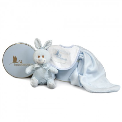 Blue Baby Little Bunny Gift Set