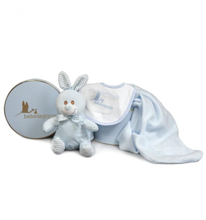 Set Bébé Lapin et sa couverture