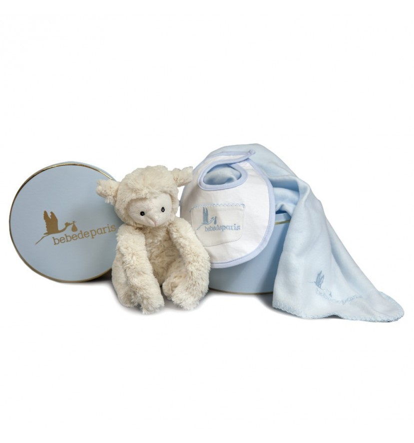 Baby Little Lamb Gift Set Blue