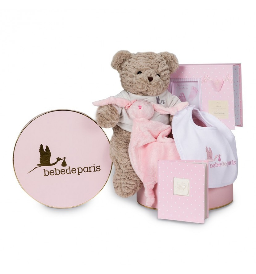 Memories Essential Baby Hamper Pink