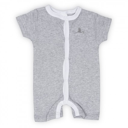Colour Baby Body Short Sleeve Grey