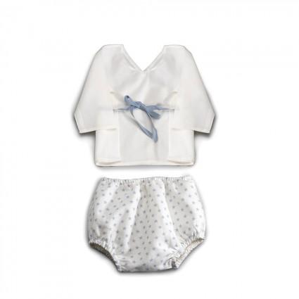 Blue Atelier Stars Baby Set