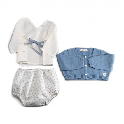 Bleu Atelier New York Baby Set