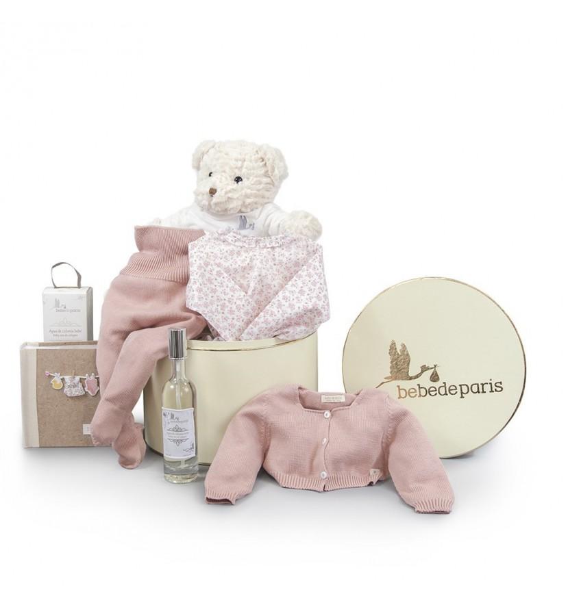 Atelier Vintage Paris Baby Hamper Pink