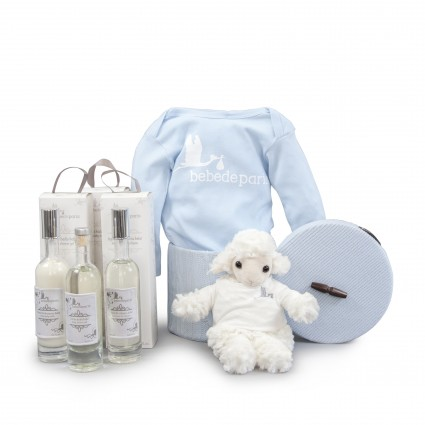 Blue Essential Toiletries Baby Hamper