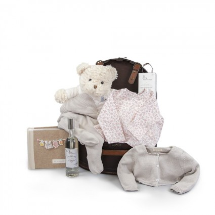 Atelier Coffre Paris Baby Basket Beige