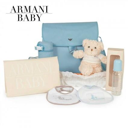 Panier naissance Armani En route