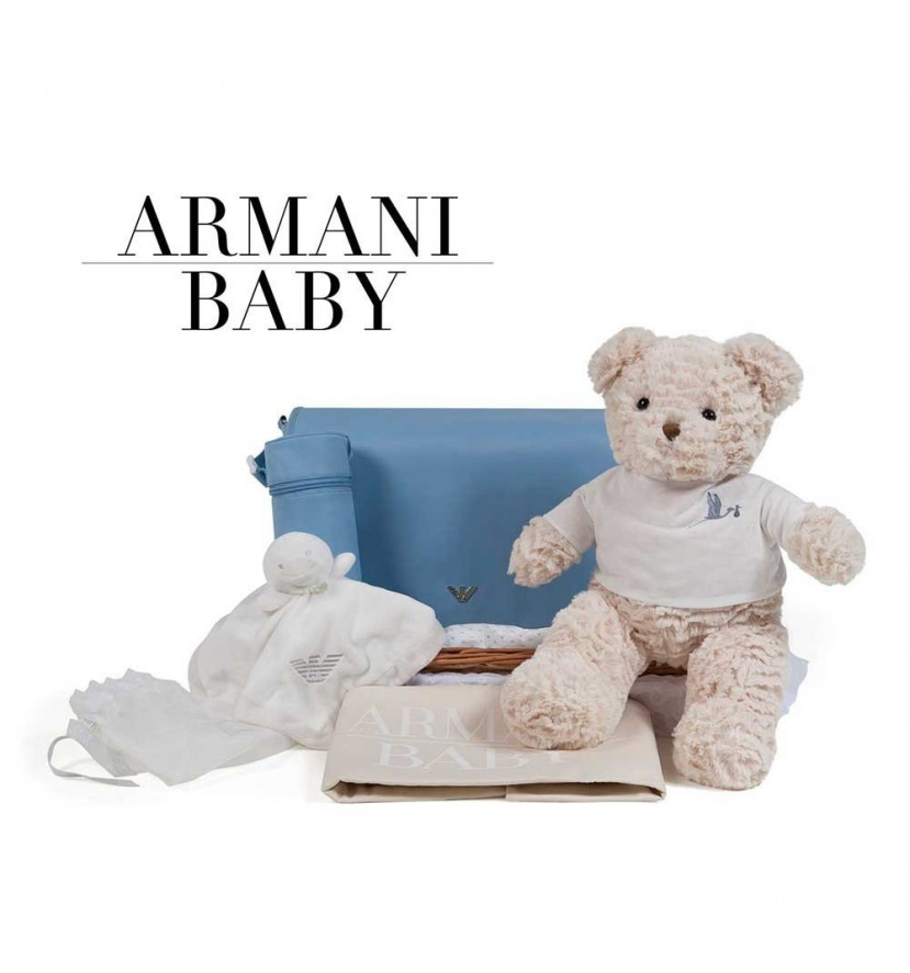 Panier naissance Armani voyage