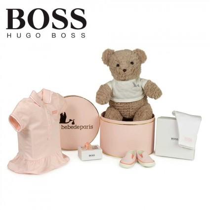 Panier naissance Hugo Boss tennis