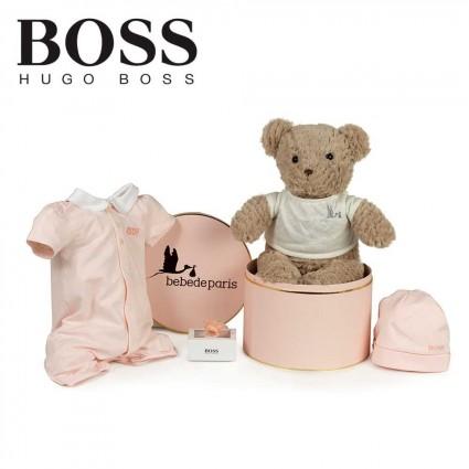 Panier naissance Hugo Boss tenue confort fille