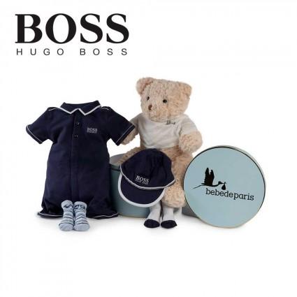 Panier naissance Hugo Boss polo body