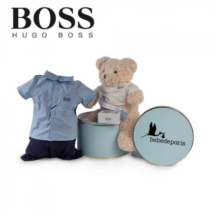 Panier naissance Hugo Boss urbain