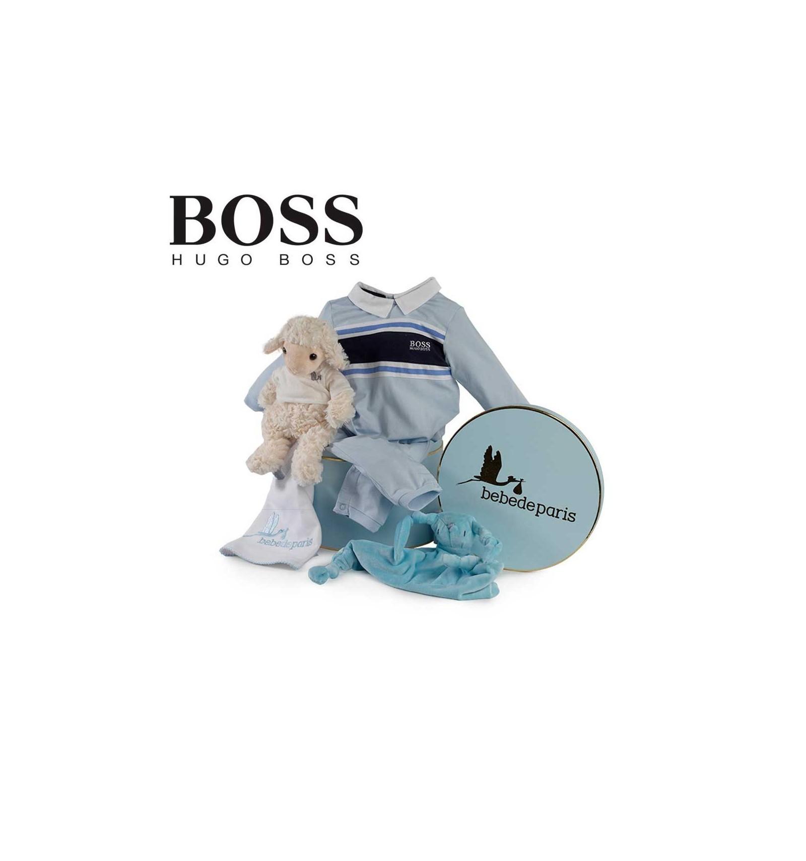 43d0b883785b8 Corbeille bébé Hugo Boss sérénité (rayures)   Bebe de Paris