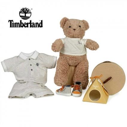 Panier naissance Timberland chassures cadeau
