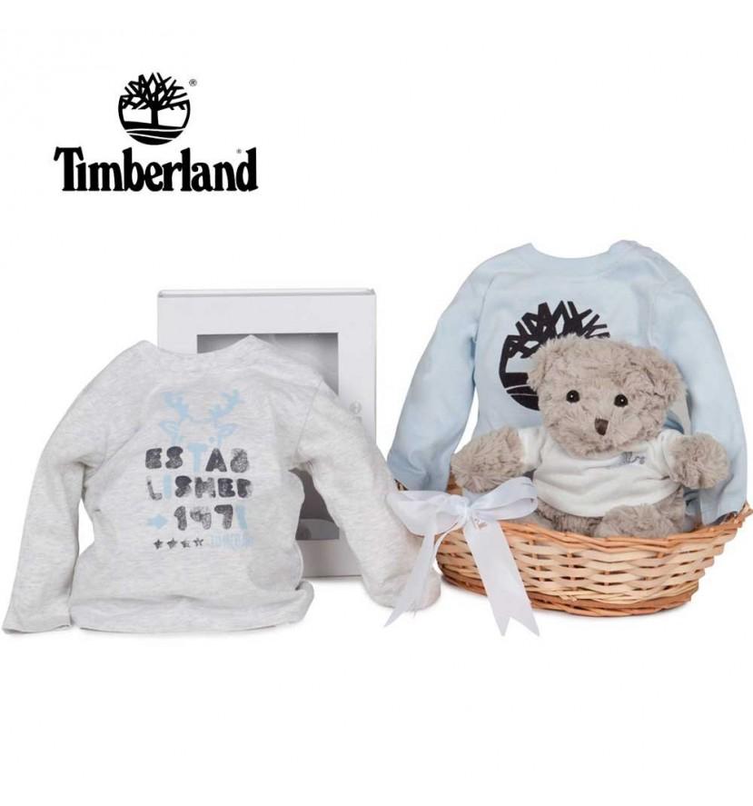 Panier naissance Timberland t-shirts