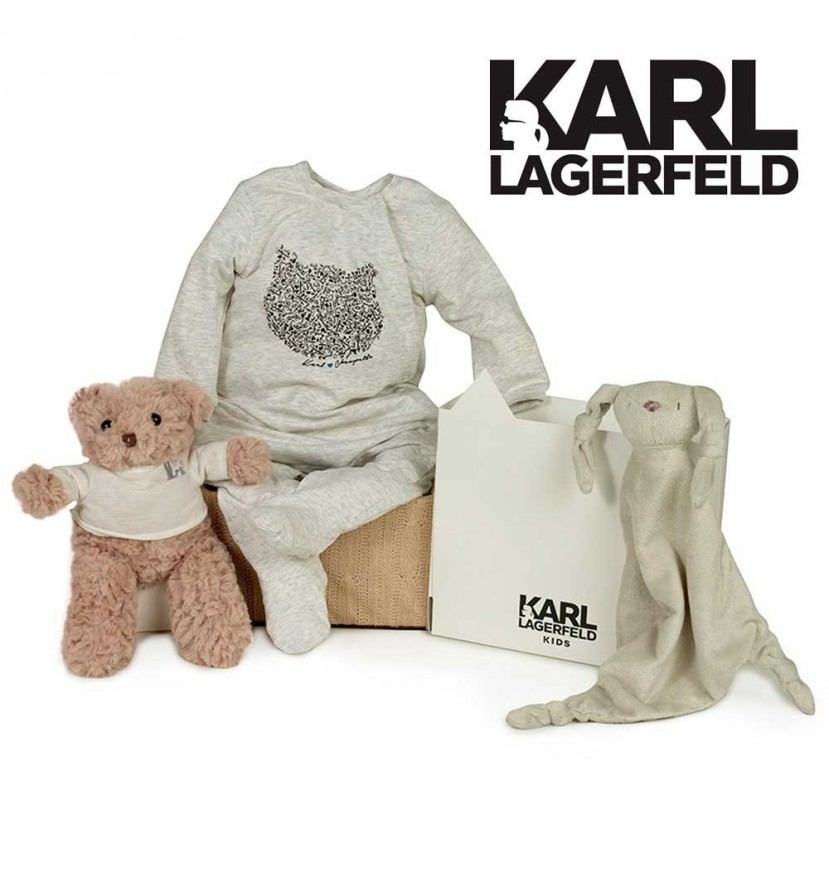 Corbeille bébé Karl Lagerfeld (rigolo)