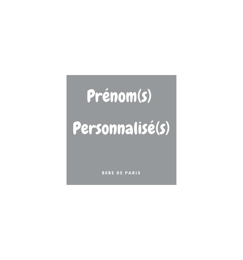 Prenom personnalise