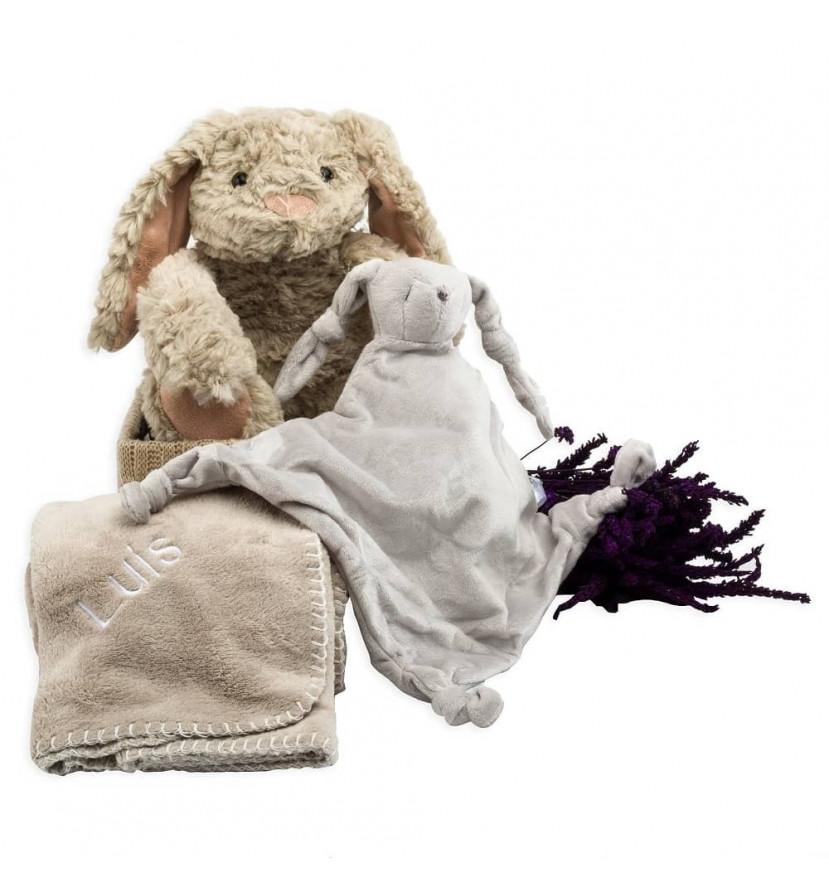 Panier Doudou et couverture pour Bebé