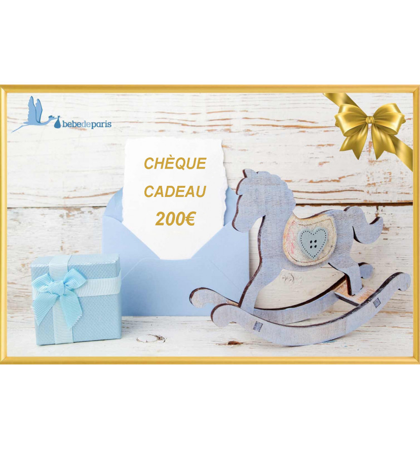 chéque Cadeau 200€