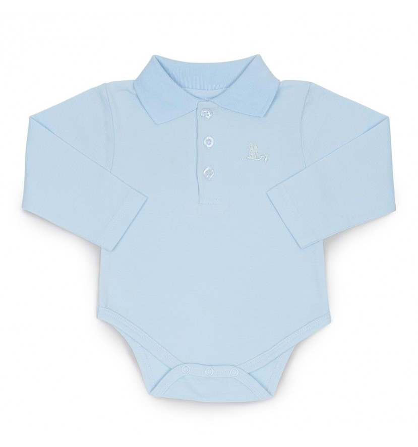 Body Polo Bébé de paris Bleu