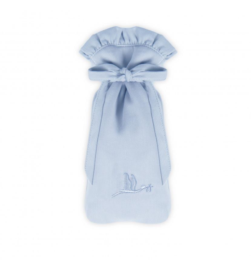 Pochette Biberon bleu