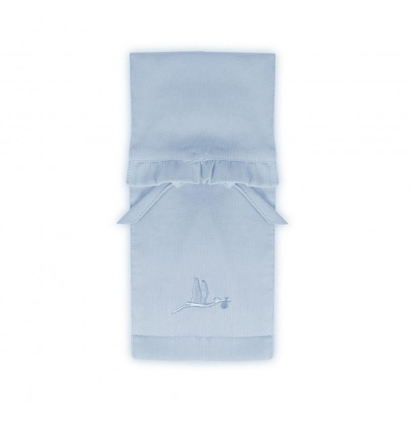 Pochette range couche bleu