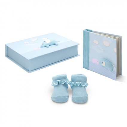 Blue Baby Gift Set Elephant