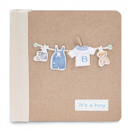 Baby Photo Album T-Shirt Boy