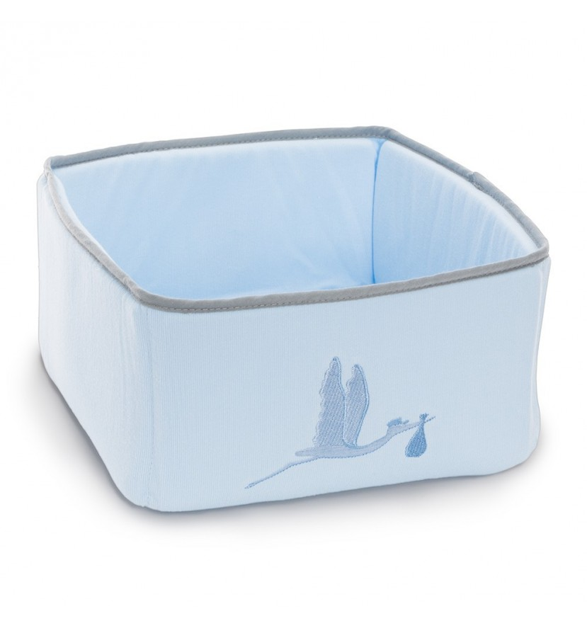 Baby Toiletries Basket Organizer Blue
