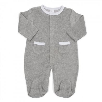 Grey Stars Baby Pyjamas