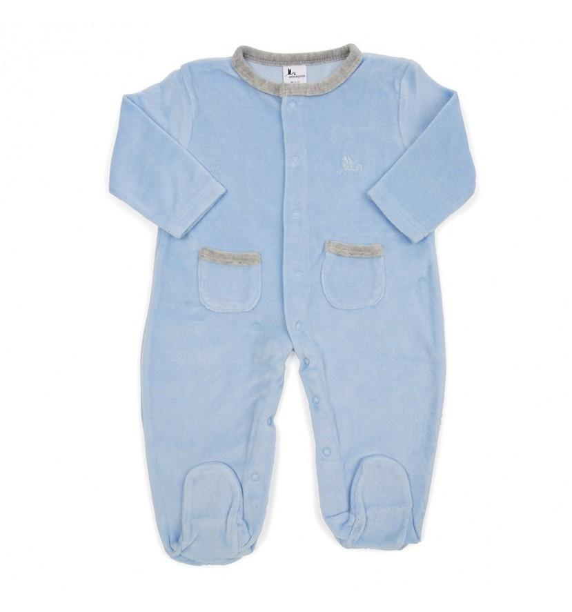 Blue Stars Baby Pyjamas