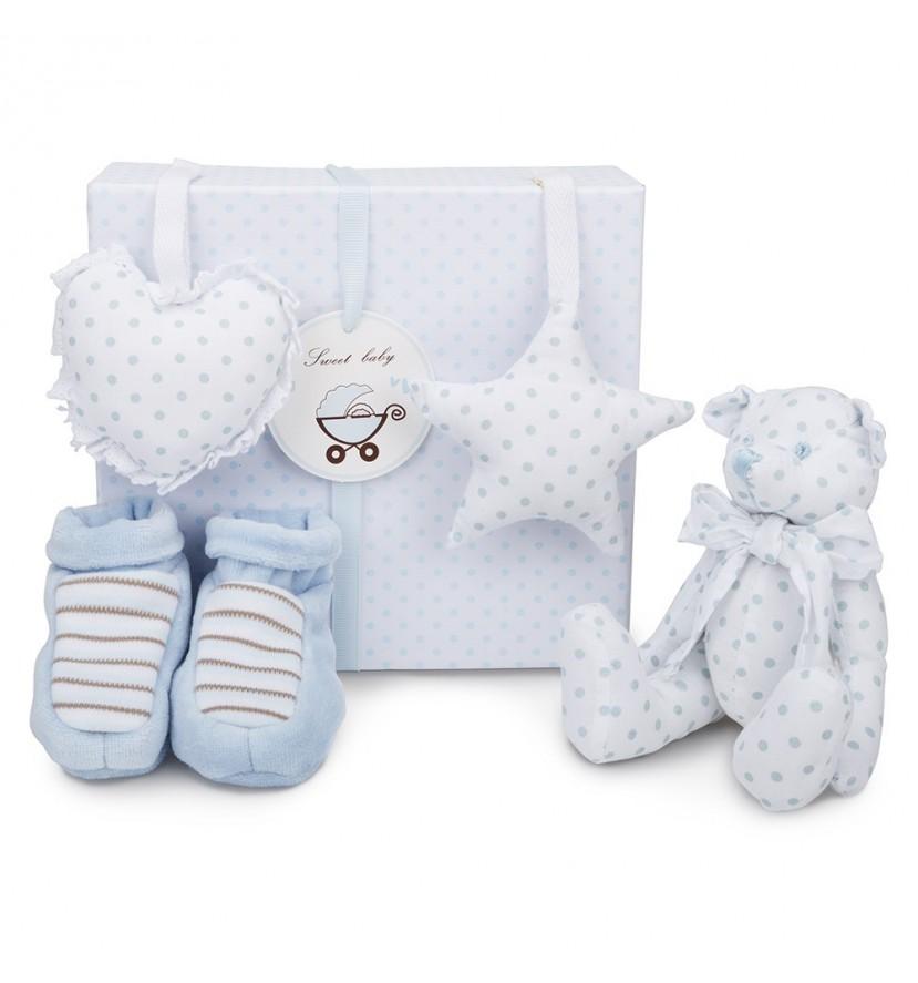 Ensemble bébé ours disponible en rose ou bleu