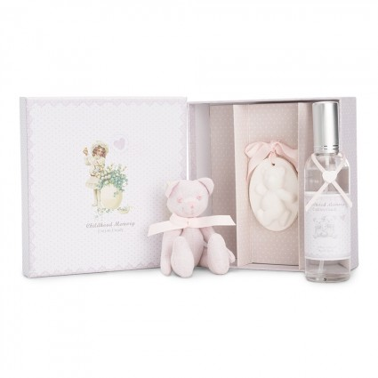 Pink Candy Floss Baby Gift Set