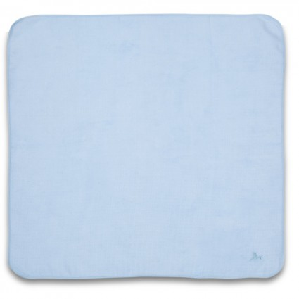 Mousseline d'allaitement bleue