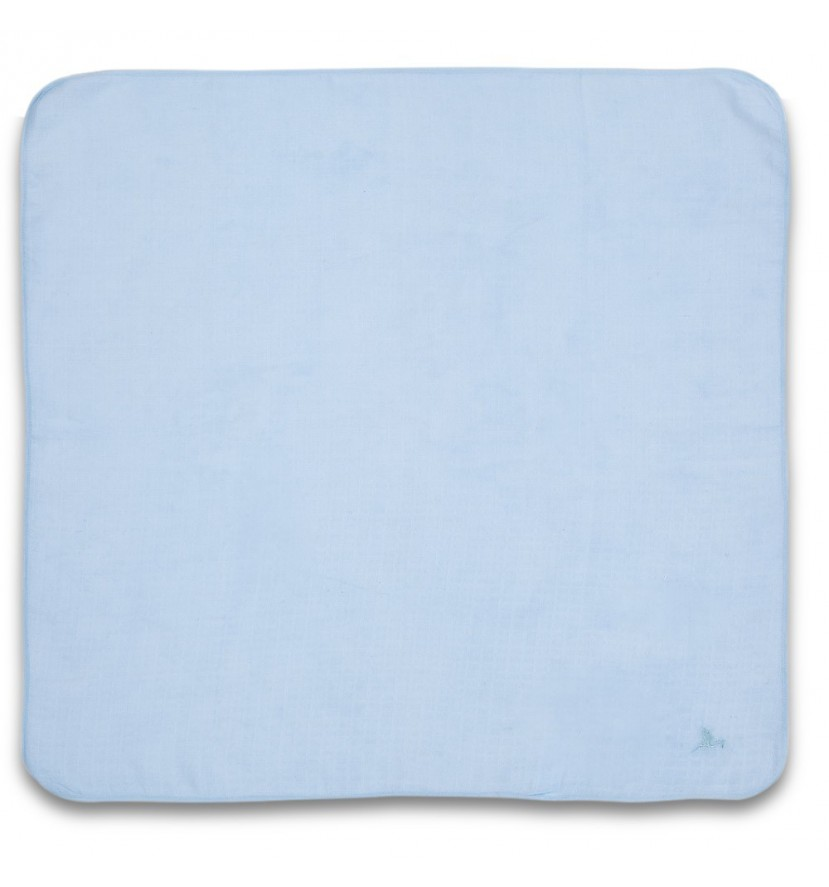 Blue Baby Muslin or Breastfeeding Cloth