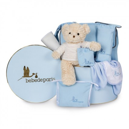 Travel Baby Hamper Blue