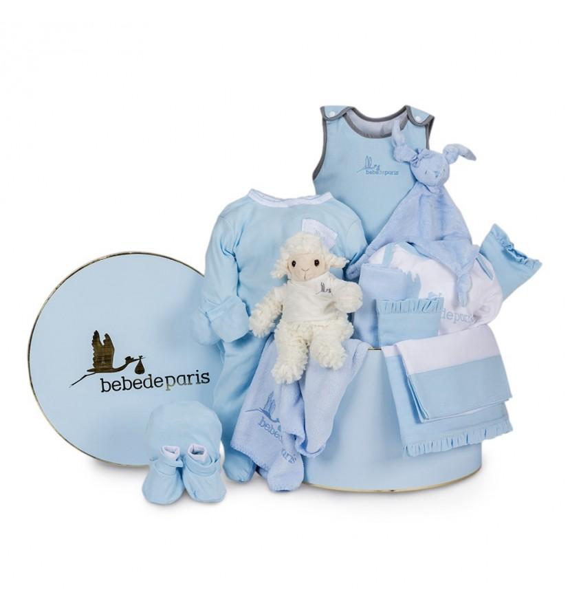 Blue Serenity Deluxe Baby Hamper